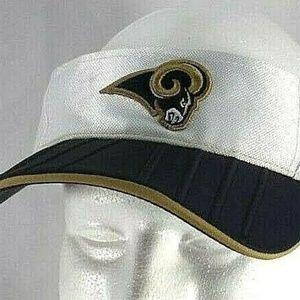 Los Angeles Rams Blue Visor Adjustable